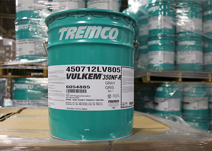 Tremco Vulkem 350NF Base Coat, A Single-Component, Low Odour, Low VOC, Urethane Membrane